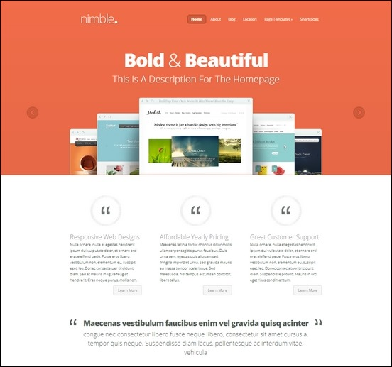 nimble-wordpress-theme