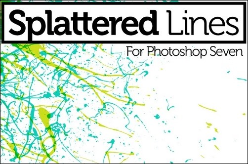 splatter-line-brushes