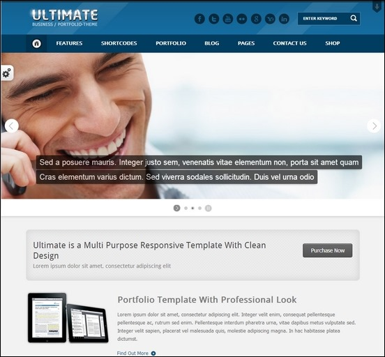 ultimate-multi-responsive-wp-theme