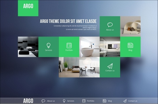40 creative portfolio website psd templates. Black Bedroom Furniture Sets. Home Design Ideas