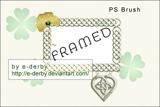 celtic-frame-ps-brush