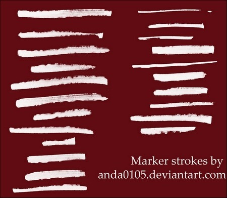 marker-strokes-brushes