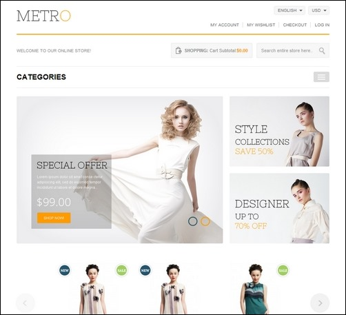 55+ Best Magento Themes for Building e-commerce Sites