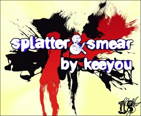splatter-and-smear