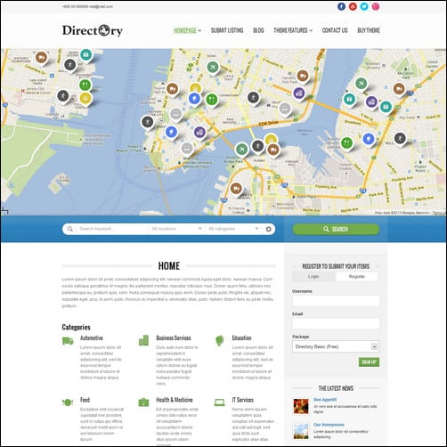 Directory Portal best wordpress themes 2013
