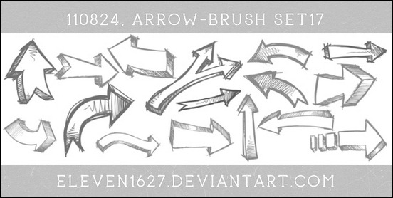 arrow-brush-set-17