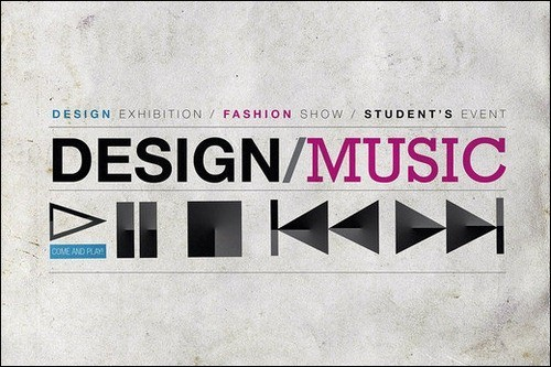 design-music-rough-poster