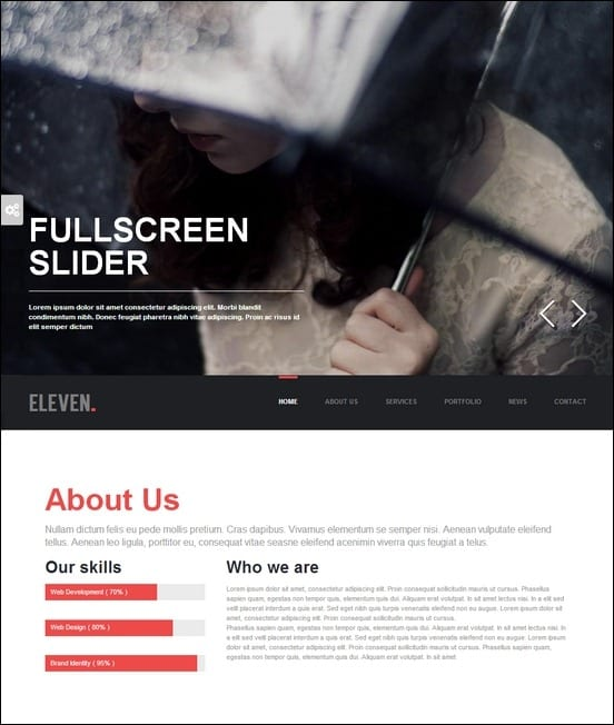 eleven-wordpress-responsive-one-page-parallax