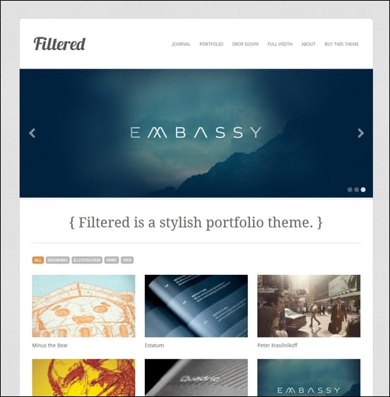 filtered-wordpress-theme
