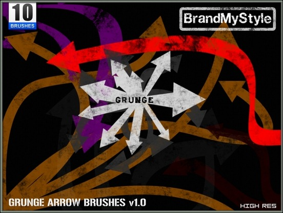 grunge-arrow-brushes-v1.0