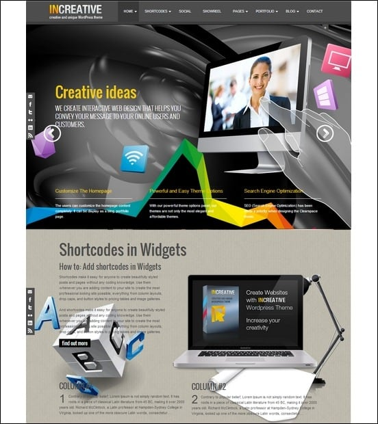 increative-creative-and-uniques-wordpress-theme