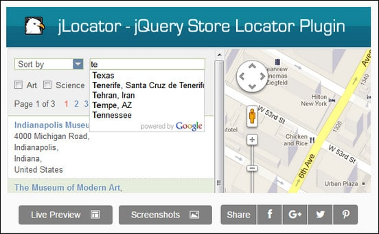 15 Useful Jquery Google Maps Plugins