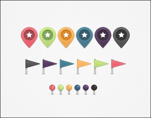 map-markers,-flags-and-pins