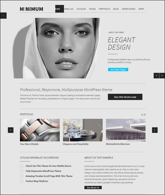 minimum-professional-wordpress-theme