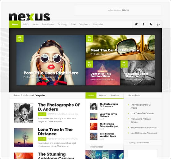 Nexus is a deeply responsive, business WordPress theme