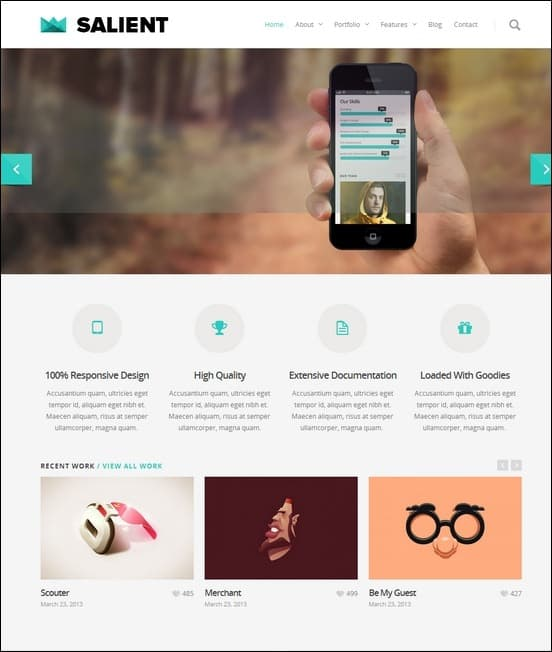 salient-responsive-portfolio-and-blog-theme