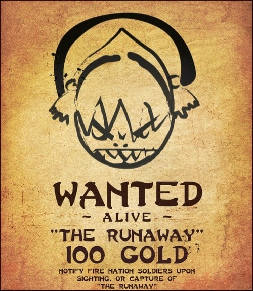 toph's-wanter-poster