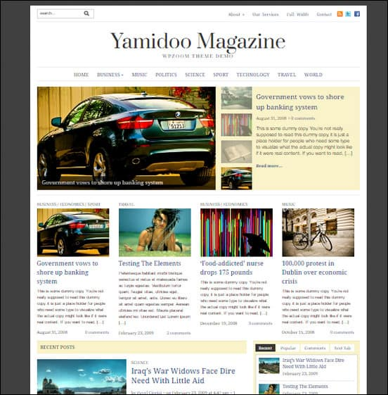 yamidoo-wordpress-theme