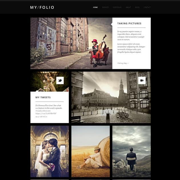 MY FOLIO – Retina Ready WP Photography Theme