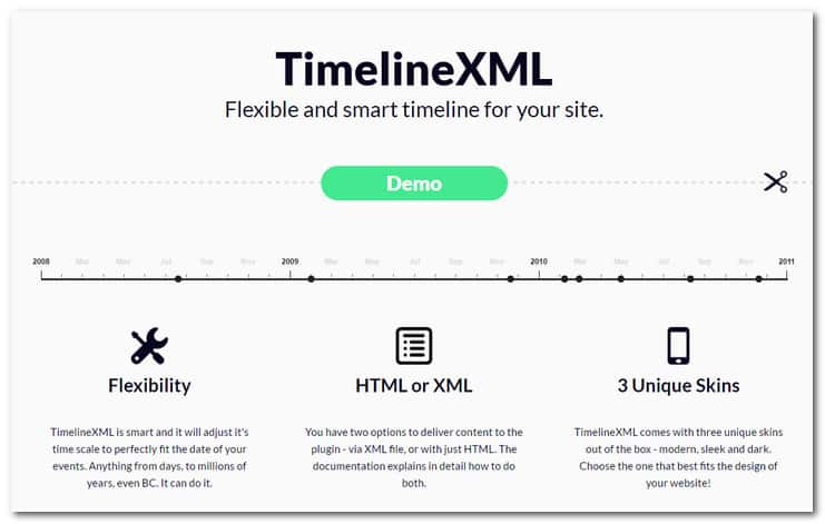 Stunning Jquery Timeline Plugins For Picky Webmasters In