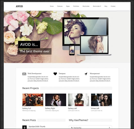 Avod - Responsive Multi-Purpose Theme