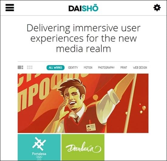 Daisho – Flexible WordPress Portfolio Theme