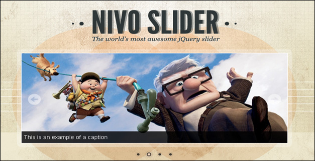 The Nivo Slider is one of the most popular image slider plugins. It features cool transition effects and simple nativation