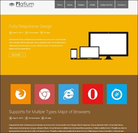 platinum is a cool theme inspired by the popular OS windows 8