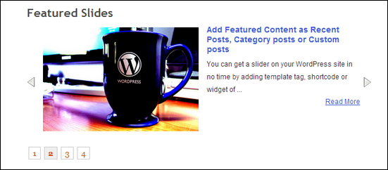 Smooth Slider is a free WordPress Plugin for creating a dynamic slideshow.