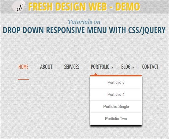 Drop-Down-Responsive-Menu
