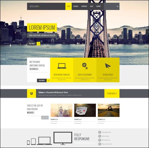 35 high performing html5 templates 2017 looking for serious web