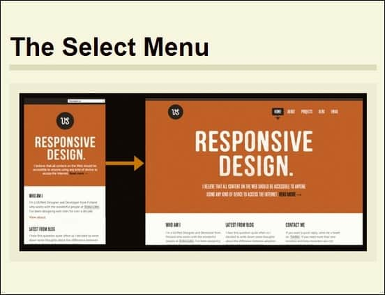 a review and compilation of techniques on how to handle responsive nav patterns