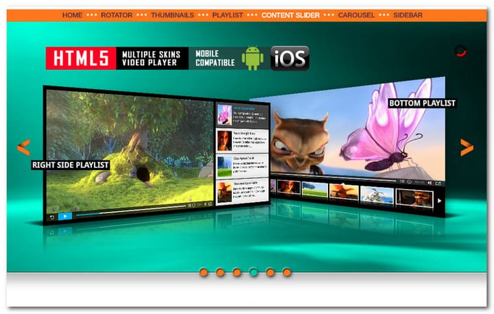 All in one jQuery Content Slider