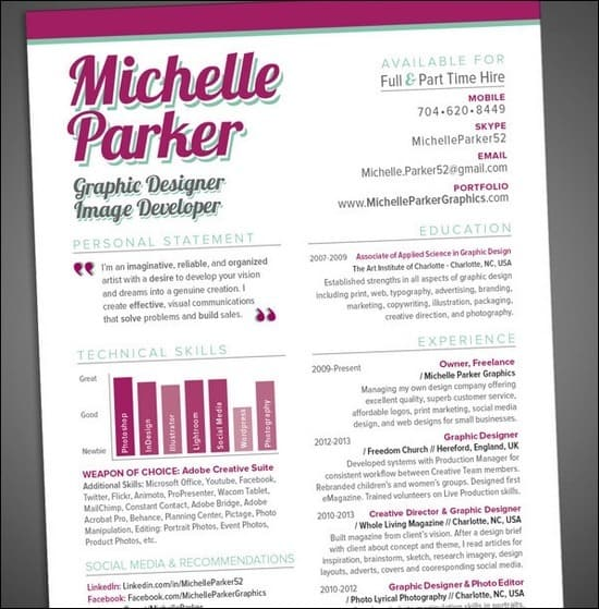 CV-and-Resume-Design-