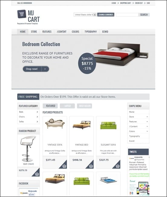Mj-Cart-Responsive-Virtuemart-Template