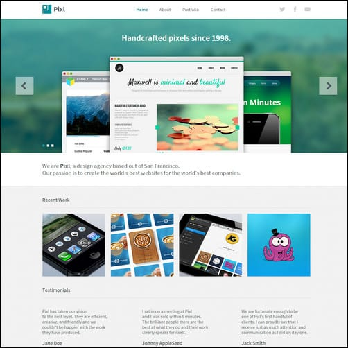 30+ Brilliant Premium and Free Adobe Muse Templates For 2017