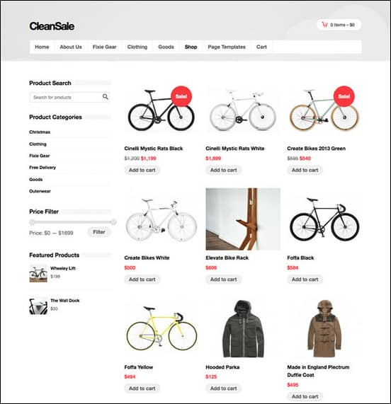 cleansale-wordpress-ecommerce-theme