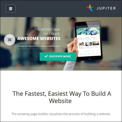 jupiter best wordpress themes 2013