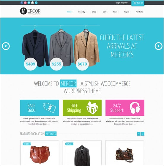 mercor-responsive-wordpress-woocommerce-theme