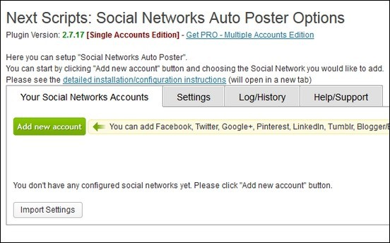 Review: NextScripts – A Great Free WordPress Auto Poster Plugin For Social Networks