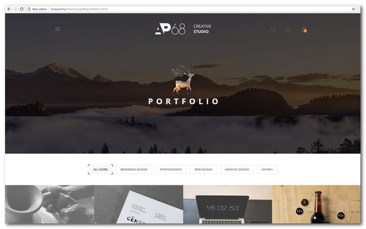 AP68 - Creative Multi-Purpose HTML5 Template