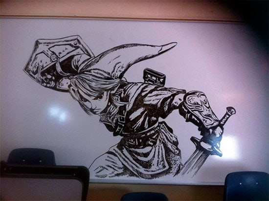 30 extraordinary inspiring examples of whiteboard art for Easy whiteboard drawings