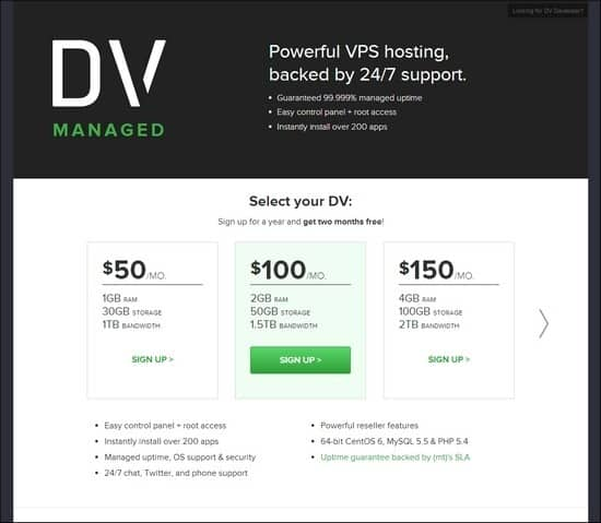 DVManaged