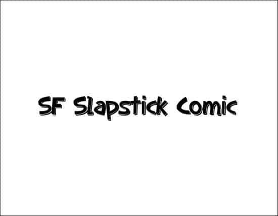 SFSlapstickComicShaded