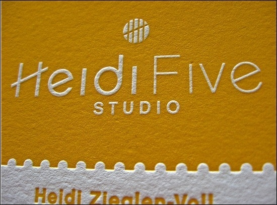 HeidiFiveStudioBusinessCards