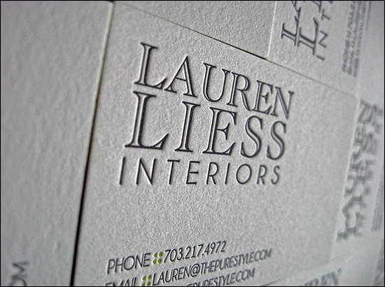 LaurenLiessInteriorsBusinessCards