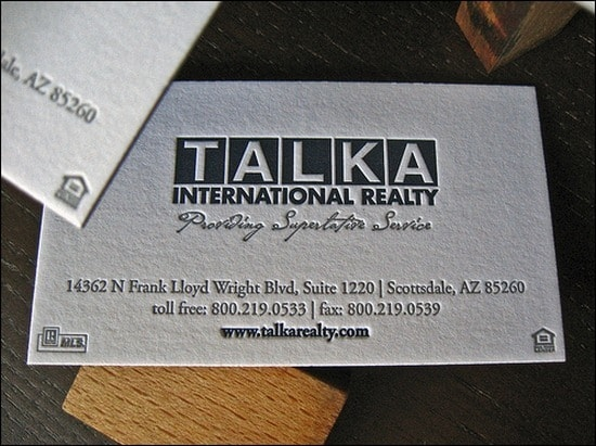 TalkaRealtyBusinessCard