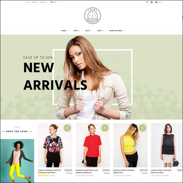 AP NewFashion Shopify Theme