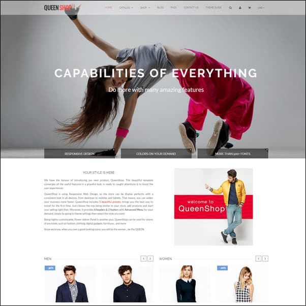 Queen Responsive Shopify Theme