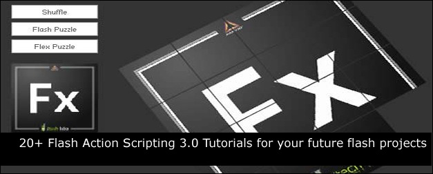 20+ Flash Action Scripting 3.0 Tutorials for Your Future Flash Projects